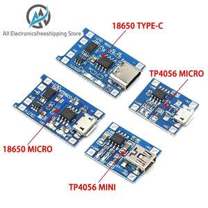 Module-Charging-Board Protection Lithium-Battery-Charger Dual-Functions TP4056 Type-C/micro-Usb