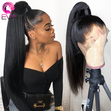 Eva Straight Full Lace Human Hair Wigs Pre Plucked With Baby