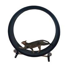 Pet cat climbing frame, cat toy, cat sports toy, cat climbing wheel, cat treadmill, cat running wheel цена 2017