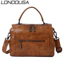 Many Pockets Uinque Zipper Luxury Handbags Women Bags Designer Tote Bag Ladies Hand Crossbody Shoulder Bags for Women 2020 Sac