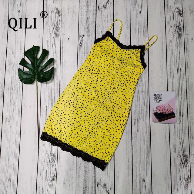 qili/сексуальное женское платье без рукавов с принтом в виде фотография