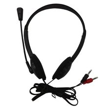 3.5mm Stereo Headset Earphone Headphone with Microphone for Laptop