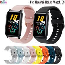 Correa de silicona para reloj Huawei Honor, Correa de silicona suave de 20mm para reloj inteligente Huawei Honor, Original, resistente al agua