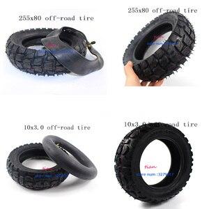 Внедорожные шины 10 дюймов пневматические шины внутренняя труба 10X3.0-6 80/65-6 255x80 для электрического скутера ZERO 10X и шины Mantis