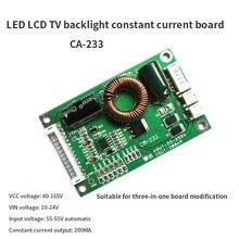 Rétro-éclairage TV LCD LED universel, 32-60 pouces, CA-233, panneau booster à courant constant, 55-255V, sortie, panneau à courant constant