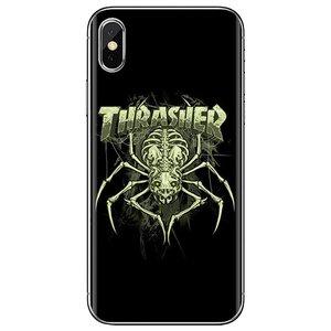 Брендовый мягкий чехол из ТПУ с логотипом Thrasher Goat для Samsung Galaxy Note 2 3 4 5 8 9 S2 S3 S4 S5 Mini S6 S7 Edge S8 S9 Plus