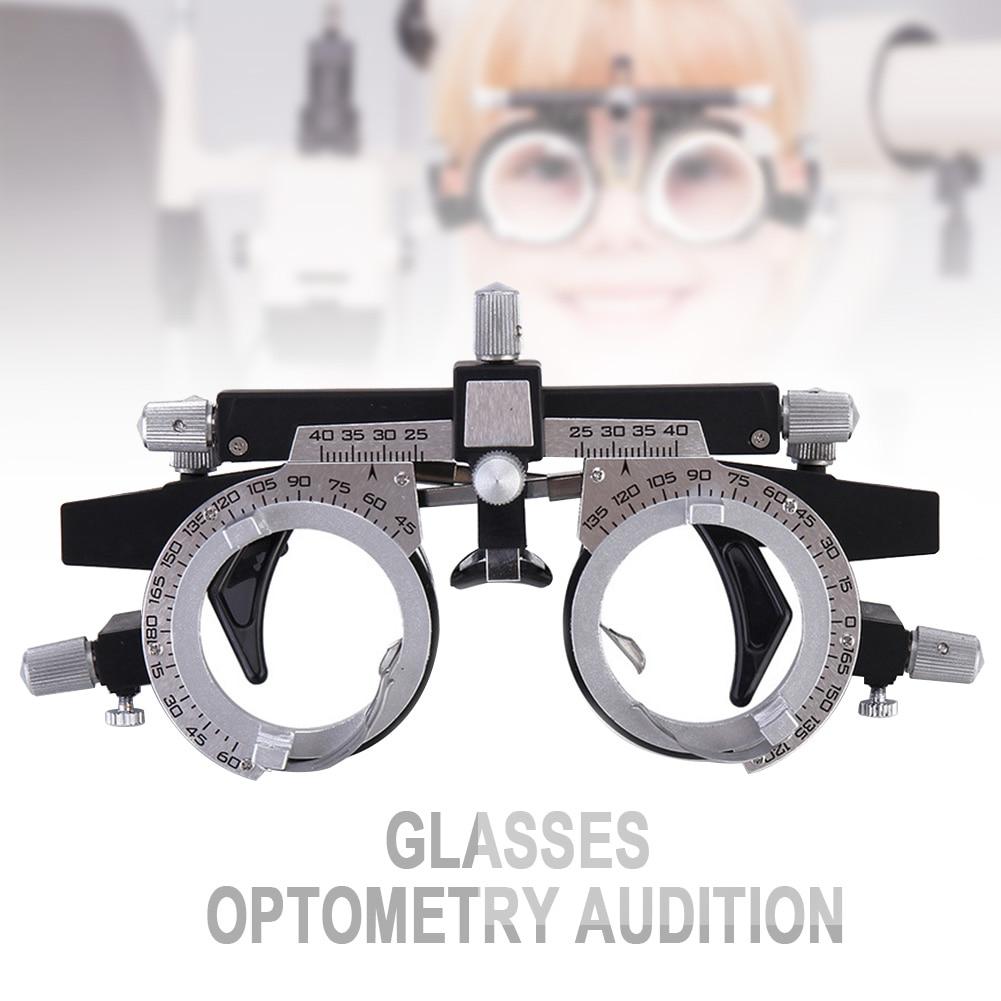Многофункциональный регулируемый Универсальный ультра оптический титановый глаз тест эргономичный пробный объектив рамка PD оптометрия Профессиональный унисекс