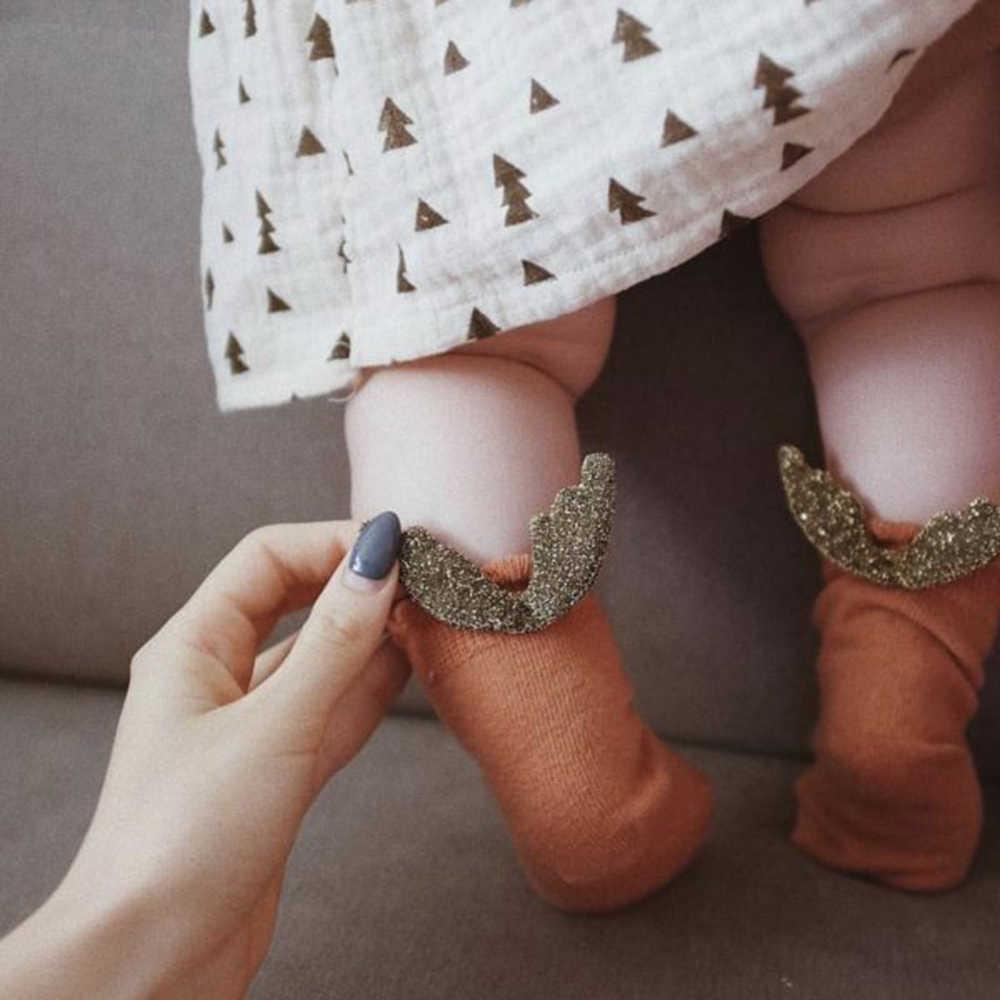 Новые детские носки милые сетчатые тонкие хлопковые носки с крыльями для новорожденных девочек и мальчиков, носки для малышей, одежда для малышей, аксессуары