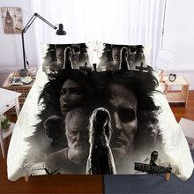 Edredon Pet Sematary King Size 3D Bedding Sets Home Textile Duvet Cover Bed Sheets Skull Bedding Set Pillowcases Bed Linen king s pet sematary