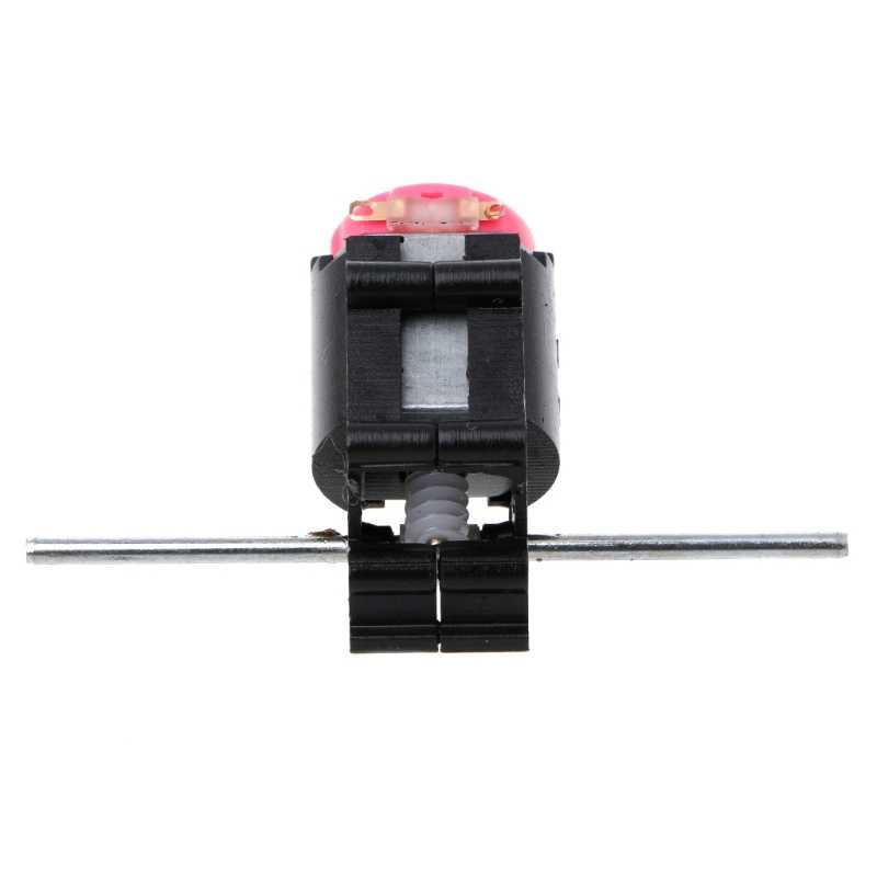 Juego de Motor de engranaje de ángulo cónico de doble eje reductor de gusano 3-6V piezas de bricolaje