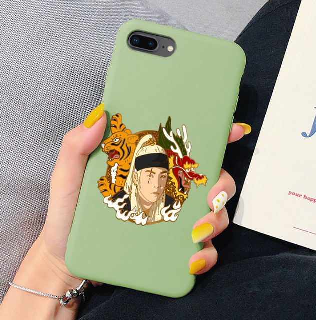 SUGA THEMED IPHONE CASE (21 VARIAN)