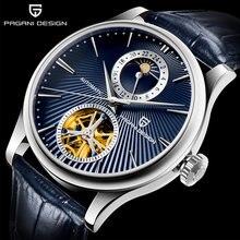 Часы pagani design Мужские механические брендовые Роскошные
