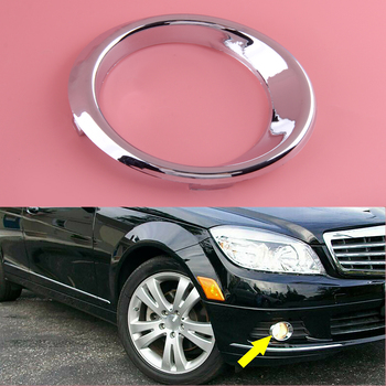 Front Right Side Bumper Fog Light Cover Fit For Mercedes Benz C Class W204 C300 C350 2011 2010 2009 2008 2048850674 image