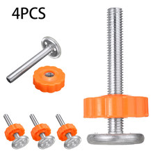 4Pcs Pressure Baby Safety Stairs Gate Screws Bolts Spanner Sturdy Gate Bar Install Fixings Spare Tool Parts(China)