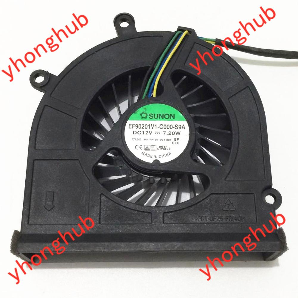 SUNON EF90201V1-C000-S9A DC 12V 7.2W Server Cooler Fan