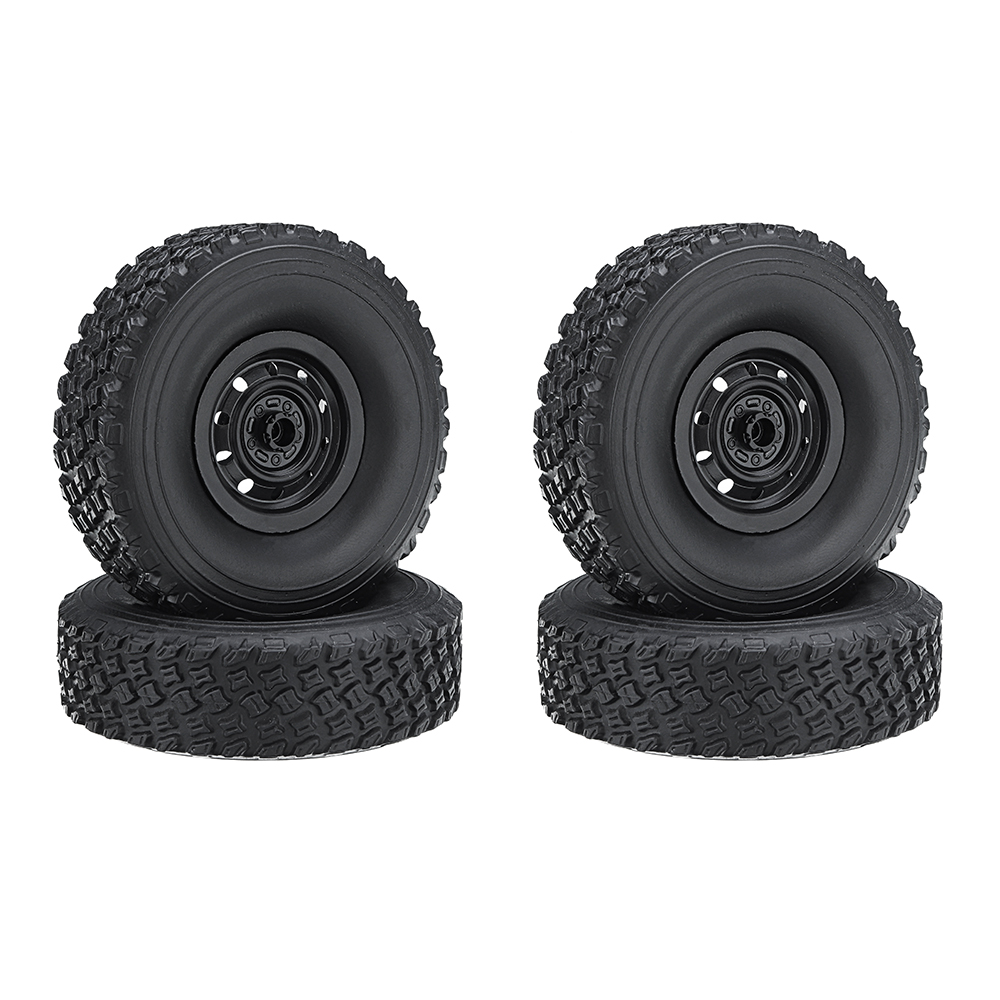 4PCS WPL FJ40 C34 RC Car Wheel 1/16 4WD 2.4G Buggy Crawler Off Road 2CH RC Vehicle Models Parts