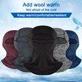 Зимняя Термальная Балаклава  маска для лица  теплая  для велоспорта  капюшон  подкладка  для спорта  лыж  велосипеда  шарфы для сноуборда  защ...