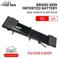 PINZHENG 14.8V 92wh 6JHDV Laptop Battery For Dell NEW 6JHDV YKWXX 5046J Replacement Battery For Dell Alienware 17 R2 R3