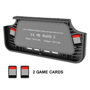Image 2 - Switch מתג NS מגן מעטפת חזרה קליפ סוללה נייד סוללה מטען מקרה נייד כוח אספקת הכרחי עבור נסיעות נייד