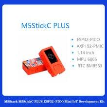 M5stack m5stickc mais ESP32-PICO mini iot kit de desenvolvimento bluetooth e wifi maior tela controlador iot