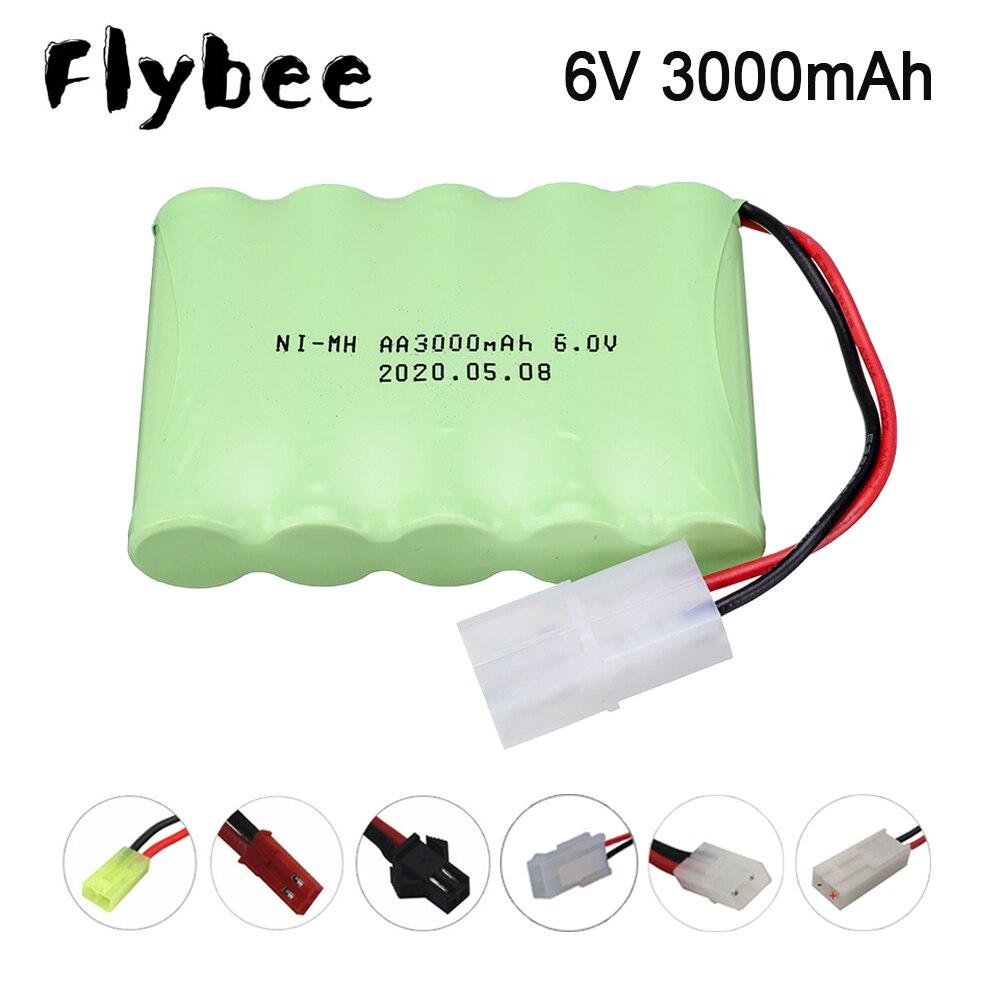6 V 3000 mah AA Ni-MH батарея SM/TAMIYA/JST/EL-2P вилка для RC Электрические игрушки, автомобильные грузовики, лодки, гоночная машина, batttery nimh 6 v 3000 mah