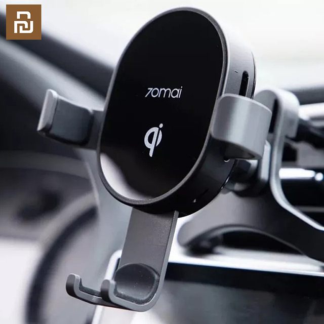 Qi Wireless Car Charger For iPhone Xs Max XR X Samsung Intelligent Sensor Fast Wireless Char ger Holder in Car