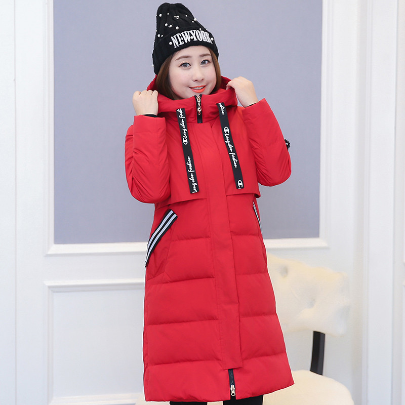 Plus Size 10XL Winter Jacket Women 90% White Duck Down Jackets Thicken Coat Female Red Hooded Parkas Abrigo Mujer WXF509