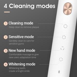 Image 4 - SOOCAS X3U звуковая электрическая зубная щетка перезаряжаемая ультра звуковая автоматическая зубная щетка для взрослых Водонепроницаемая Замена