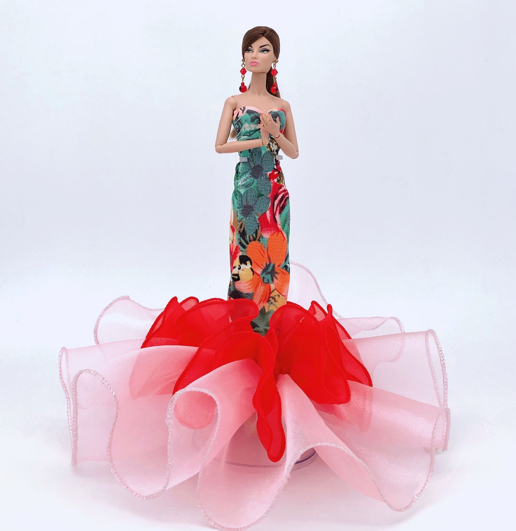 Fashion Original Handmake Clothes For Barbie Doll 1/6 Bjd Princess Dress Party Outfit Wedding Dress Costume Toys Birthday Gift