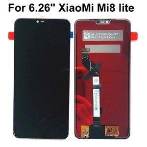 """Image 2 - 新 6.26 """"テストオリジナルのlcd aaa xiaomi Mi8 lite mi8 ユースlcdディスプレイタッチスクリーンmi8x mi 8xスクリーンデジタイザアセンブリの交換"""