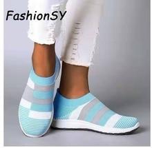 Women Summer Slip On Flat Shoes
