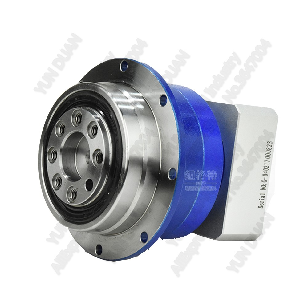 10:1 High Precision 3Arcmin Flange Output Planetary Gearbox Reducer 10 Helical Gear  for 86 NEMA34 86mm Stepper Motor 14mm CNC