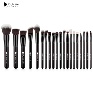 DUcare Makeup brushes set Professional Beauty Make up brush Natural hair Foundation Powder Blushes Brushes(China)