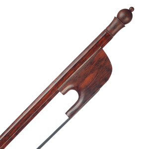 Image 4 - Professional 4/4 Cello Bow Snakewood Bow Black Horsehair Round Stick Snakewood Frog Durable Use