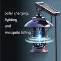 2019 Novo produto 24 Luzes LED Lanterna Bug Zapper Do Assassino Do Mosquito Luz Solar UVA com Tampa À Prova D' Água L9 #2