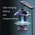 2019 neue produkt Solar Moskito-killer Licht 24 LED Lichter Laterne Bug Zapper UVA mit Wasserdichte Kappe L9 #2