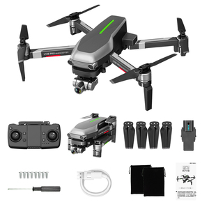 "Image 5 - L109 פרו GPS Drone 4K זום מצלמה שני ציר אנטי לנער יציב Gimbal 5G WIFI RC quadcopter מסוק מקצועי Selfie ""טים"