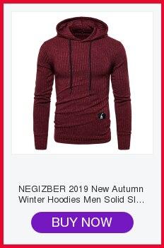 H91ab99deb4514d3d8d1243a0e8366182r NEGIZBER 2019 Autumn Winter New Men's Jacket Slim Fit Stand Collar Zipper Jacket Men Solid Cotton Thick Warm Jacket Men