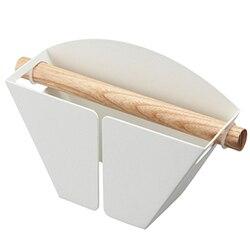 1Pc papierowe filtry do kawy półka pojemnik z podstawką na magnes na lodówkę V60 łatwa konserwacja biały w Filtry do kawy od Dom i ogród na