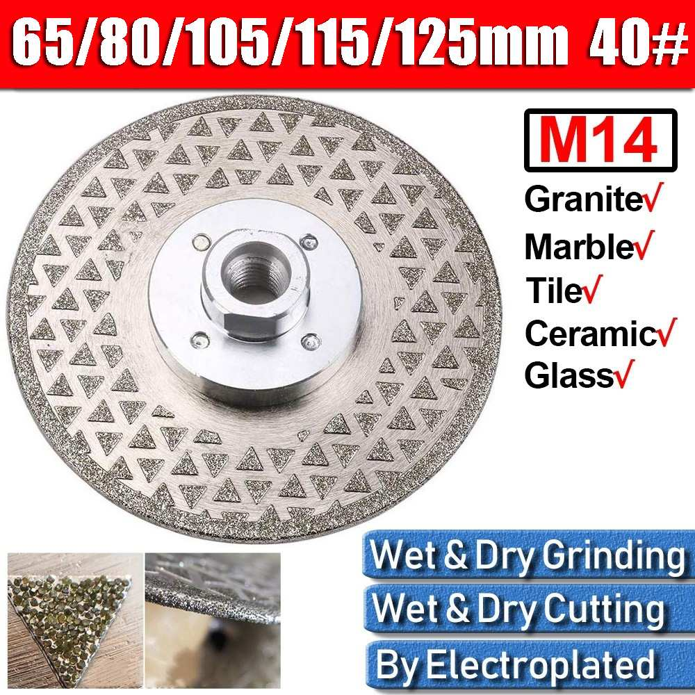 65- 125mm Diamond Grinding Wheel Disc Grinding Cup Cutting Blade Disc Grinder Wheel Concrete Granite Stone Ceramics Tools