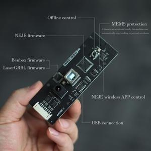 Image 4 - NEJE Master2 7W graveur Laser Mini CNC haute vitesse avec contrôle dapplication sans fil Benbox GRBL1.1f LaserGRBL Protection MEMS