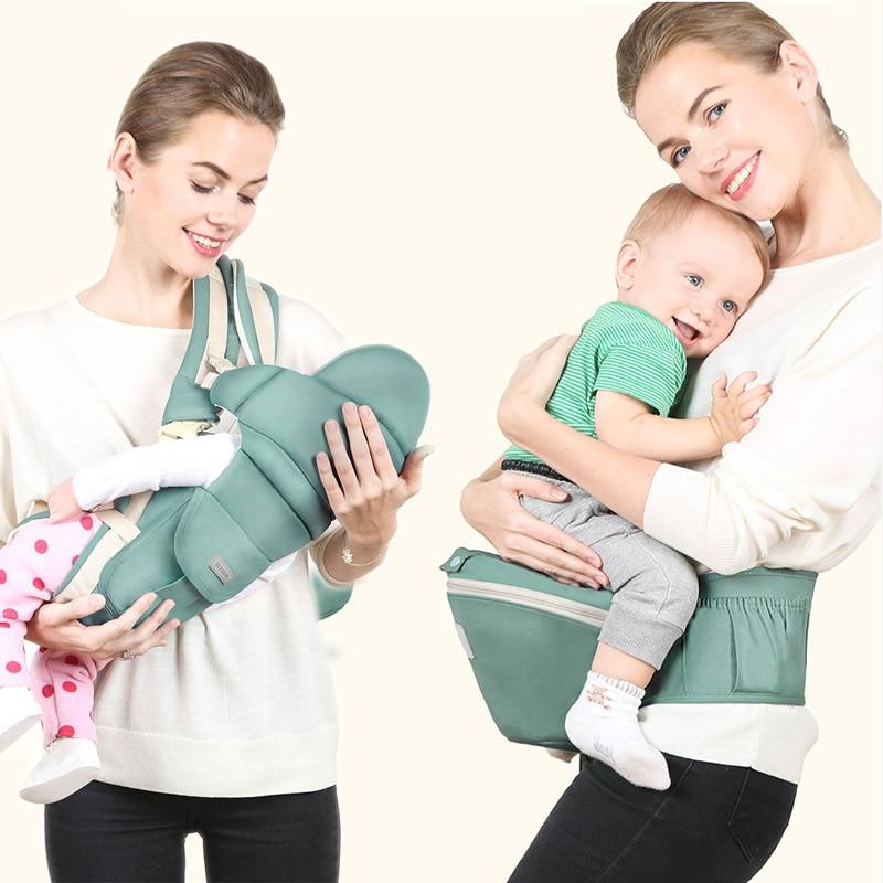 MissAbigale Baby Carrier Ergonomic Kangaroo Backpack Sling Hipseat For Newborns Sling Baby Kangaroos Scarf Carrying For Children
