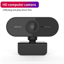 Game-Cam Webcam Laptops Windows10/8 1080P HD for Desktop PC Dual-Mics Usb-Pro OS Built-In