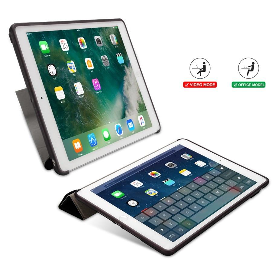 for 7-7th/A2200/A2198/.. Film--Pen Silicon Smart-Stand-Cover iPad Apple Case Film--Pen
