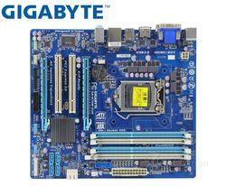 GIGABYTE GA B75M D3H oryginalna płyta główna LGA 1155 DDR3 USB2.0 USB3.0 DVI VGA HDMI B75M D3H 32GB B75 używane płyta główna do komputera stacjonarnego|Płyty główne|Komputer i biuro -