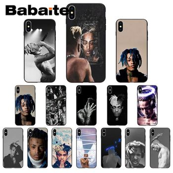 for iphone 11pro max case for iphone x Xxxtentacion Phone accessories Case for iphone 8 7 6S Plus XS MAX 5S SE XR Cover coque image