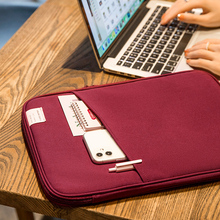 Multifunction Tablet Bag Office Worker Phone Notebook Ipad Organize Briefcase Travel Shockproof Storage Clutch Accessories Items