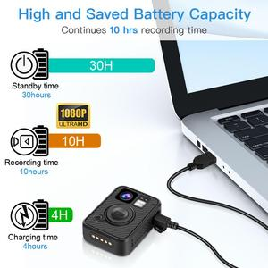 Image 4 - BOBLOV Wifi 경찰 카메라 F1 64GB 바디 카메라 1440P 착용 된 카메라 법 집행 10H 녹화 GPS 나이트 비전 DVR 레코더