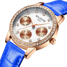 купить Korean Version Of The Simple Ladies Watch Fashion Leather Belt Waterproof Trend Students Quartz Casual Wrist Watch For Woman дешево