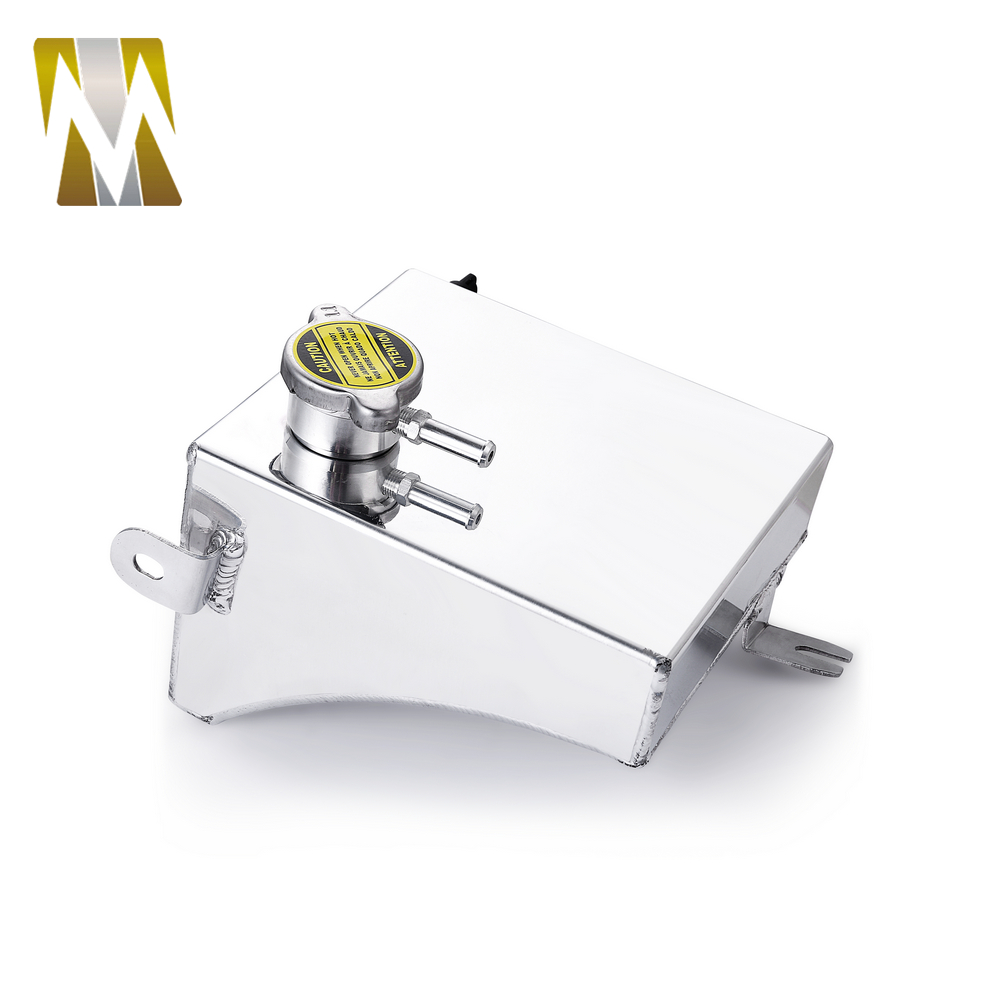 Polished Aluminium Radiator Expansion Overflow Tank for Nissan 180SX 200SX S13 S14